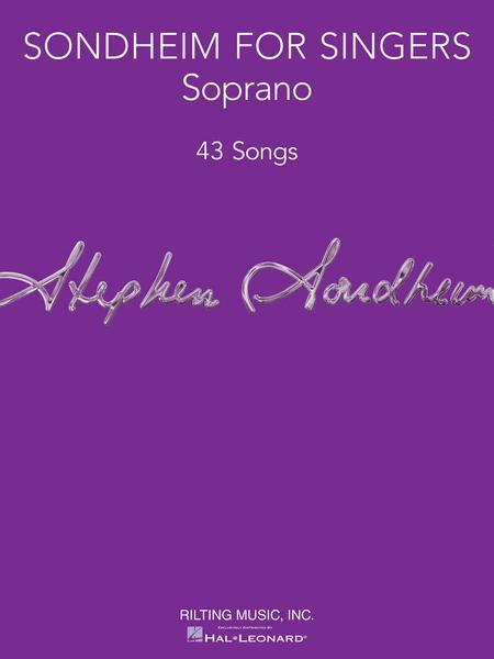 Sondheim for Singers