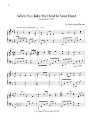 When You Take My Hand In Your Hand