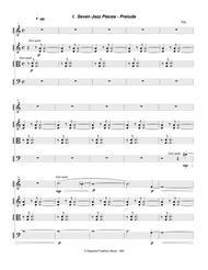 Seven Jazz Pieces (1990-91) for string quartet, cello part