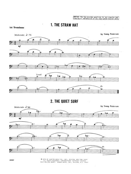 Ten Trios For Trombone - 1st Trombone