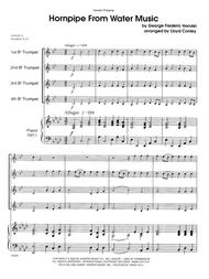Hornpipe From Water Music - Full Score