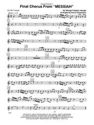 Final Chorus From 'Messiah' (Blessing And Honour,Glory And Power Unto Him) - 3rd Bb Trumpet