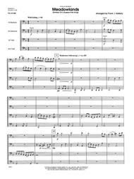 Meadowlands (Fantasy On A Russian Folk Song) - Full Score