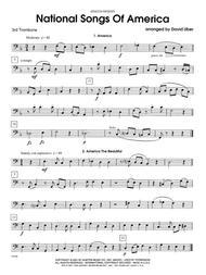 National Songs Of America - 3rd Trombone