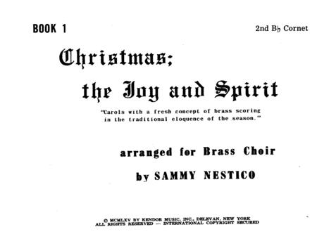 Christmas; The Joy & Spirit - Book 1/2nd Cornet