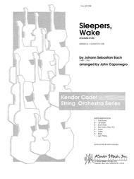 Sleepers, Wake (Cantata #140) - Full Score
