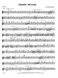 Summer Sketches - 1st Flute