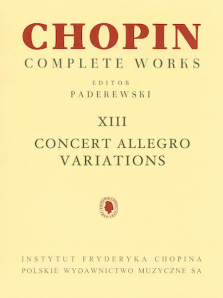 Concert Allegro Variations