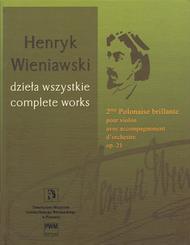 2nd Polonaise Brillante, Op. 21 Pour Violon Avec Accompagnement D'orchestre