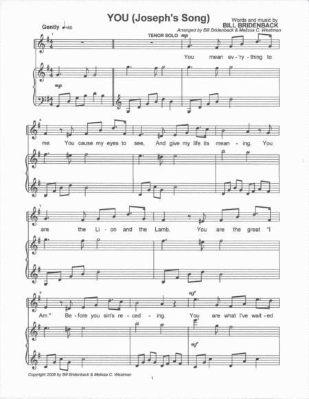 YOU (Joseph's Song)