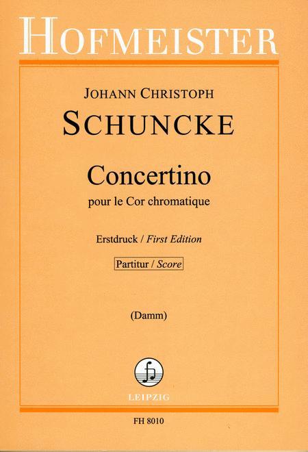 Concertino pour le Cor chromatique / Partitur