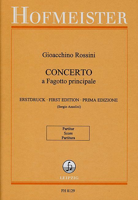 Concerto a Fagotto principale / Partitur