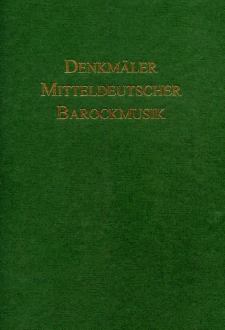 DMB II / 8 Ausgewahlte Motetten und geistliche Konzerte