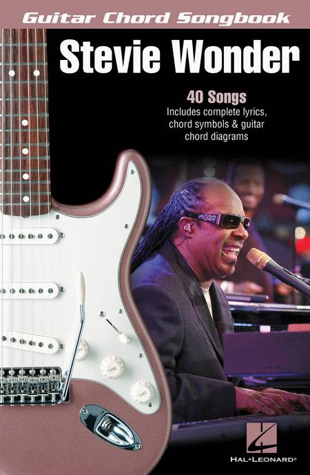 Stevie Wonder - Guitar Chord Songbook