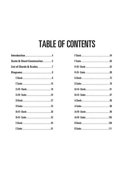 Pedal Steel Guitar Chords & Scales By Chad Johnson