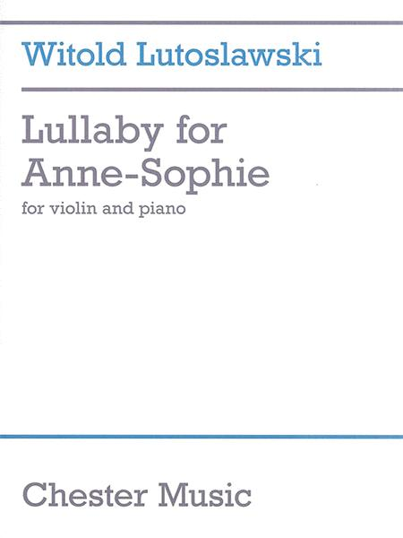 Lullaby for Anne-Sophie
