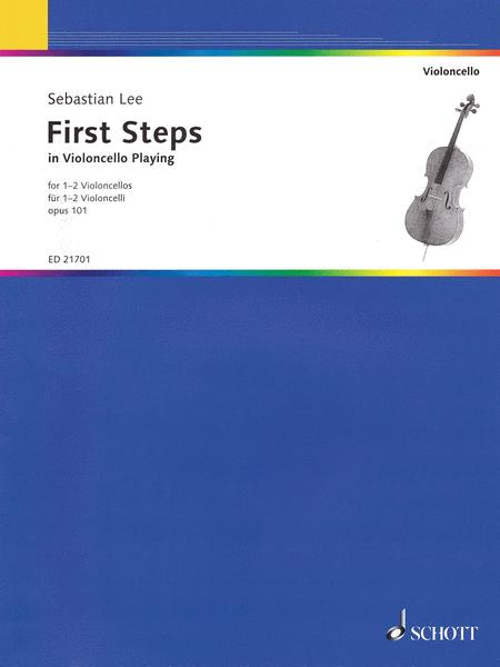 First Steps In Violoncello Playing Op. 101