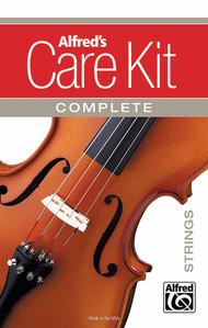 Alfred\'s Care Kit Complete: Strings (Violin & Viola)