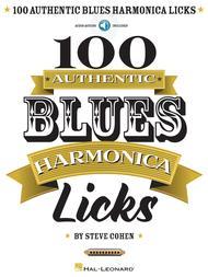 100 Authentic Blues Harmonica Licks