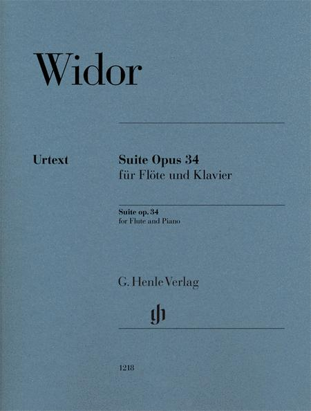 Suite Op. 34 for Flute and Piano
