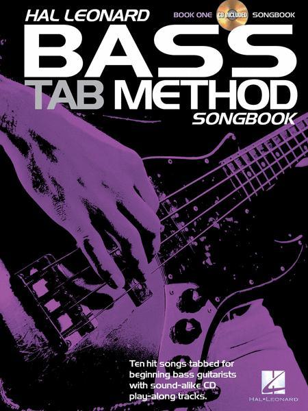 Hal Leonard Bass Tab Method Songbook 1
