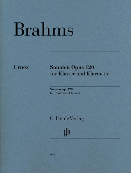 Clarinet Sonatas Op. 120