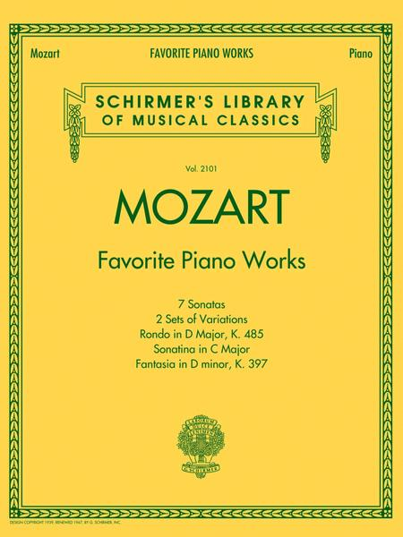 Mozart - Favorite Piano Works