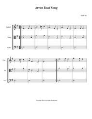 Easy Celtic Pieces For String Trio