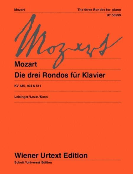 3 Rondos for Piano