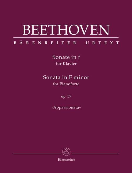 Sonata for Pianoforte F minor op. 57