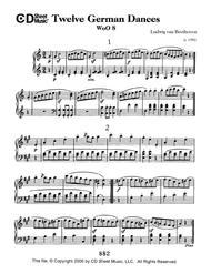 German Dances (12), Woo 8