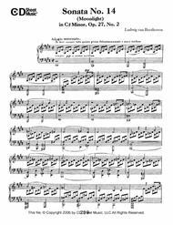 Sonata No. 14 In C-sharp Minor (moonlight), Op. 27, No. 2