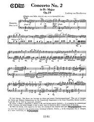Concerto No. 2 In B-flat Major, Op. 19