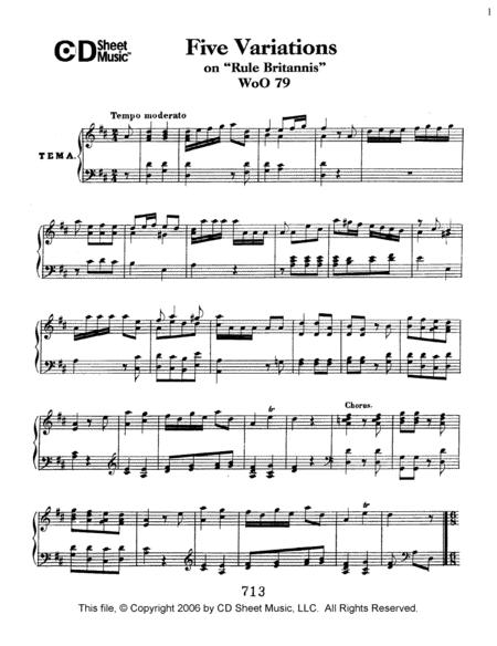 Variations (5) on