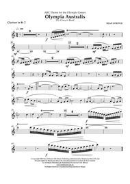 Olympia Australis (Concert Band) - Bb Clarinet 2