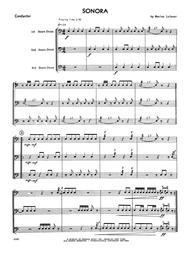 Sonora - Full Score