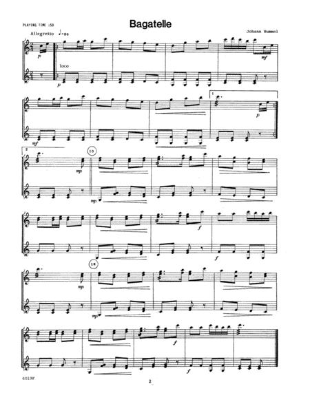 Preview Classic Duets For Marimba By William J  Schinstine