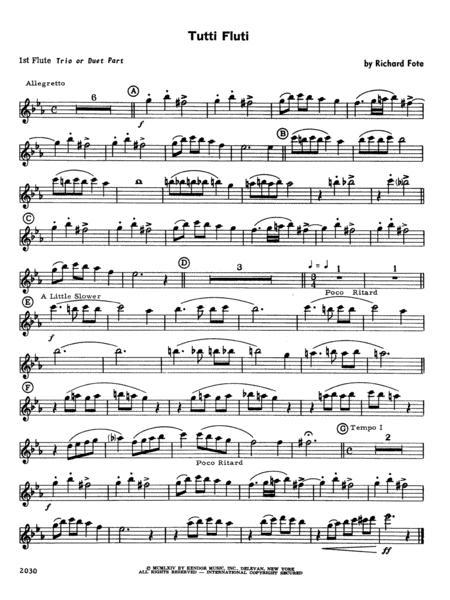Tutti Fluti - Flute 1