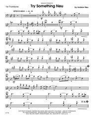 Try Something Neu - Trombone 1