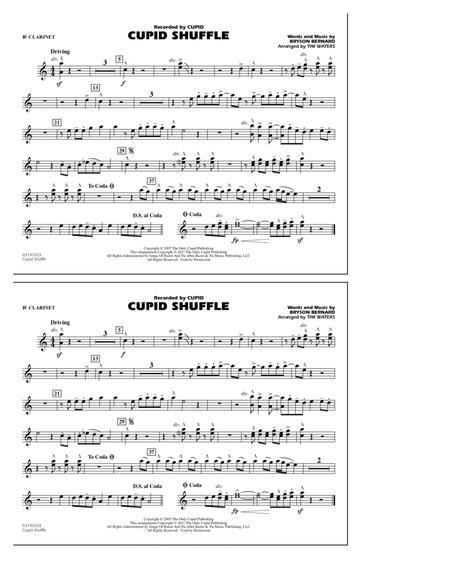 Cupid Shuffle - Bb Clarinet