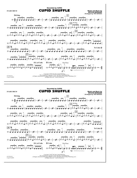 Cupid Shuffle - Snare Drum
