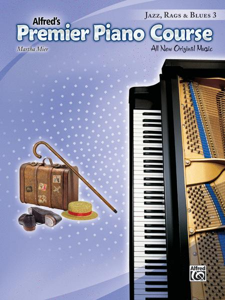 Premier Piano Course Jazz, Rags & Blues, Book 3
