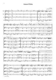 J.Strauss  Annen Porka, for string quartet, CS102