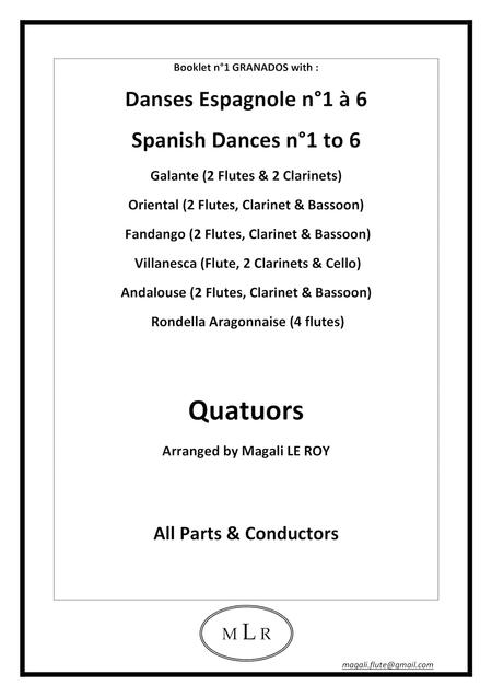 Booklet n°1 Spanish Dances GRANADOS