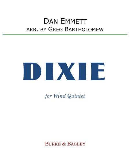 Dixie for wind quintet