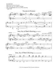 Toccata in D minor and Jesu, Joy of Man's Desiring