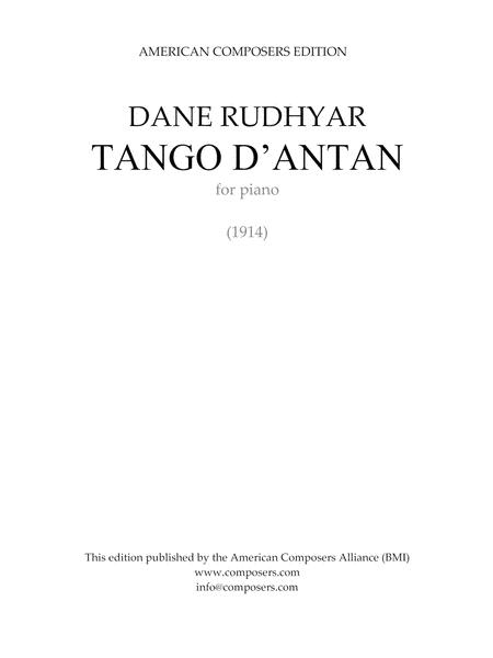TANGO D'ANTAN