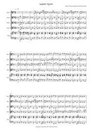Jupiter Hymn for Viola Quartet