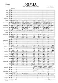 Nimia (Score and parts for Concert Band)
