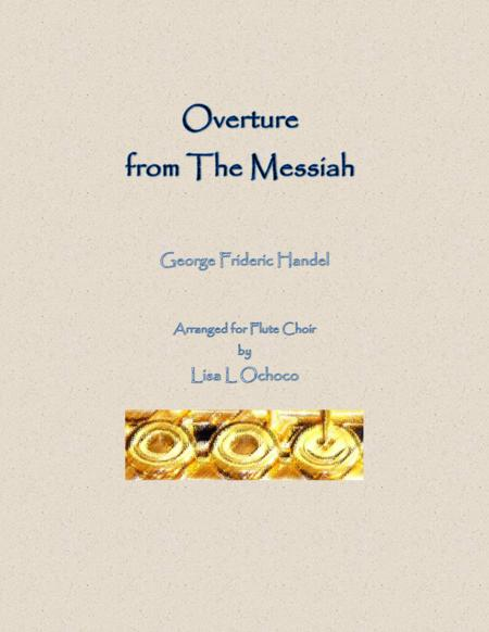 Overture from The Messiah for Flute Choir